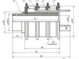 Кольцевой токосъемник для тельфера