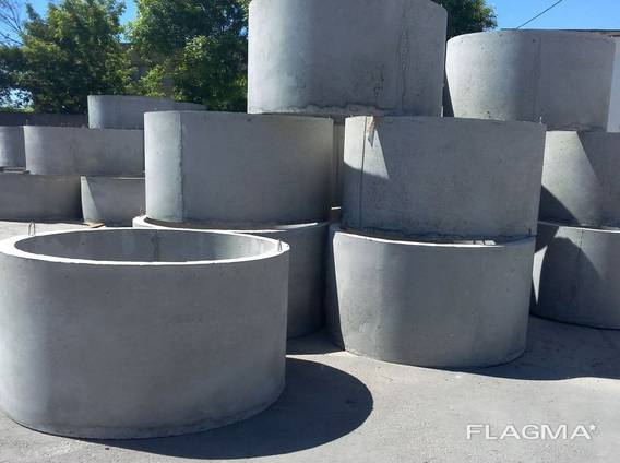 Кольцо бетонное КС 10,9 / кольца колодязные / бетонные круги