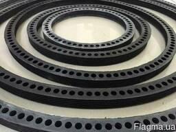 Резиновые кольца для муфт из асбестоцемента САМ100