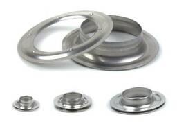 Кольцо,люверс 10,12,16,20,25, 40 мм нержавеющие (