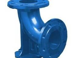 Колено фланцевое с упором 90° диаметр 150 мм