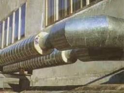 Коліно сталеве в ПЕ оболонці 38/110