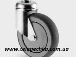 Колеса и ролики для торговых покупательских тележек 125 мм