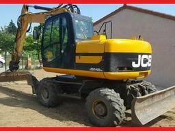 Колесный экскаватор JCB JS 145 W