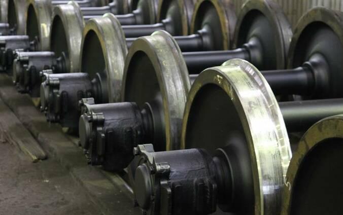 Колесные пары от20 до75мм тележки ханина