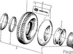 Колесо с шиной гусматик на погрузчик ДВ-1621 и ДВ-1661