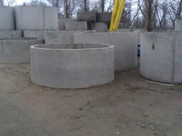 Кольца для канализации д. 2, высотой 0.6, 0.9 и 1.2