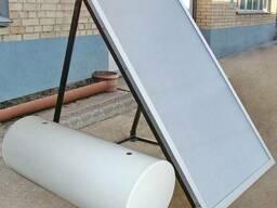 Коллектор солнечный КС 1-1,5 ( дачный , стальной )