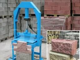 Колочный пресс для колки камня, блоков, кирпича сдаем аренду