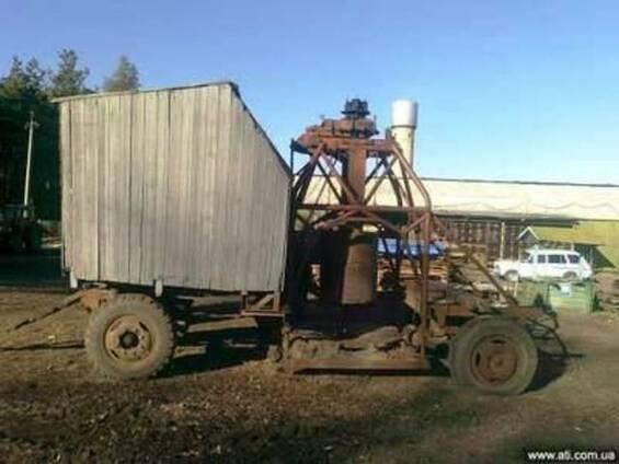 Колодцекопатель КШК 30, ф70-120мм, инструмента на 20м., двиг