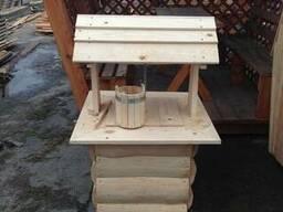 Колодец деревянный декоративный