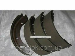Колодка тормозная ГАЗ 3302 Газель задние 4шт 3302-3502090