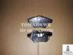 Колодки гальмівні передні VW T5 2011 ME0252374618/W