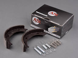 Колодки ручного тормоза с пружинами Mercedes Sprinter (901,9