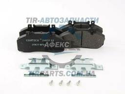 Колодки тормозные Mercedes Vario 512-814D, Sprinter пер. .. .