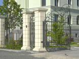Колонна бетонная для забора Политеп высота 2,3м - фото 7