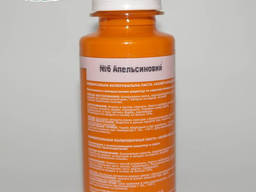 Колорант для красок 100 мл. №6 апельсиновый, Policolor