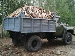 Колотые дрова клен, акация, дуб, ясень.