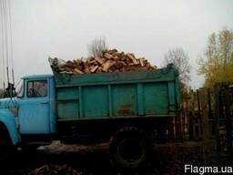 Колотые дрова берёза.