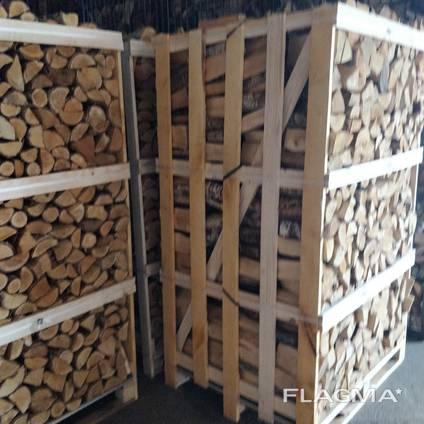 Колотые дрова из ясеня