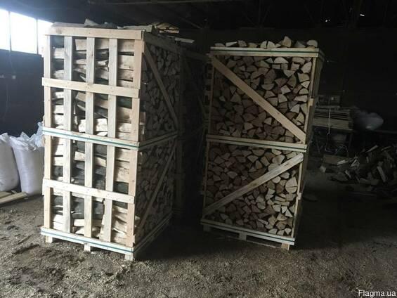Продам колотые дрова камерной сушки