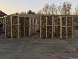 Колотые дрова на экспорт