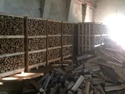 Колотые дрова твёрдых пород