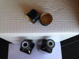 Колпачок алюминиевый с распылителем 31,5 мм черный