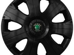 Колпак Колесный Skoda (черный) R15