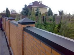 Колпаки, крышки на столбы, парапеты на забор