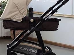 Коляска с люлькой 2в1 Carrello Fortuna. Прогулка лицом к мам
