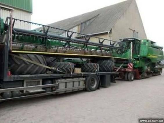Комбайн зерноуборочный John Deere 9880