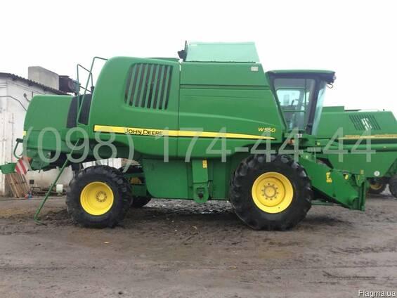 Комбайн зерноуборочный John Deere W550 (Джон Дир W550)