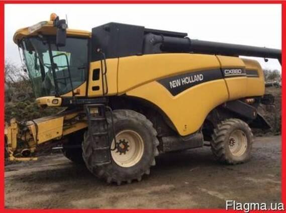 Комбайн зерноуборочный New Holland CX 880 SL