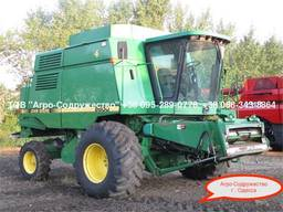 Комбайн Зерновой JOHN DEERE 9600 из США