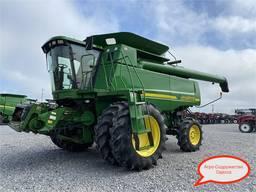 Комбайн зерновой John Deere 9610 м/ч 4500 из США