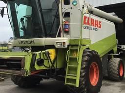 Комбайн зернозбиральний Claas Lexion 480