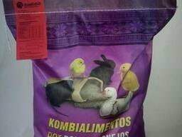 Комбикорм для бройлеров, уток, кроликов