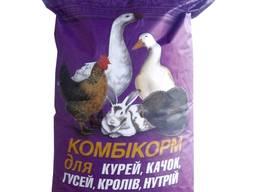 """Комбікорм для кролів і нутрій """"Комбі ребіт для кролів 1-42 днів"""" 100%"""