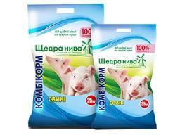 Комбикорм Щедра Нива свиньи (старт) ПК С 4к 10-35 кг
