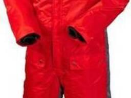 Комбинезон зимний красный, сигнальный (спецодежда) пошив