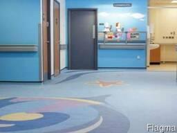 Полукоммерческий линолеум для школы, больницы, офиса купить