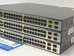 Коммутатор | Cisco Catalyst WS-C3750-48PS-S (PoE) |
