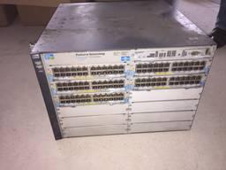 Коммутатор локальной сети (Switch) ProCurve 5412zl (J8698A)