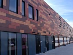 Фасадные панели, кассетоны, вентилируемый фасад.