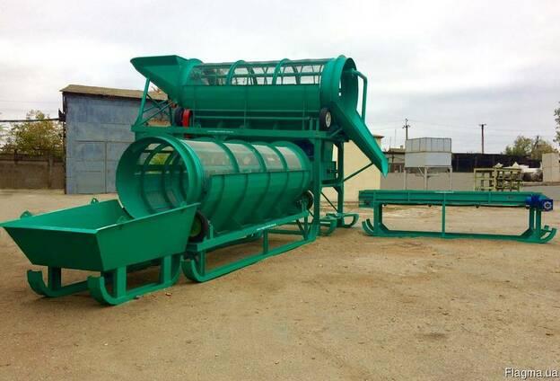 Комплекс для промывки грунта с подачей воды