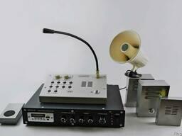 Комплекс громкой связи (пульт оператора с блоком питания)