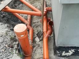 Комплексний монтаж дренажних систем, водовідведення
