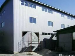 Комплексный ремонт промышленных зданий