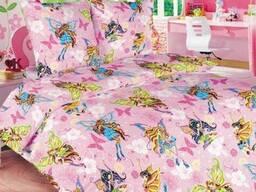 Комплект детской постели Винкс